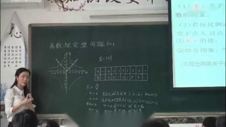人教版初中数学九年级下册中考专题复习—函数探究型问题-重庆