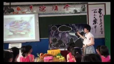 三年级美术第3课《曲曲直直》吴桂梅广西贵港