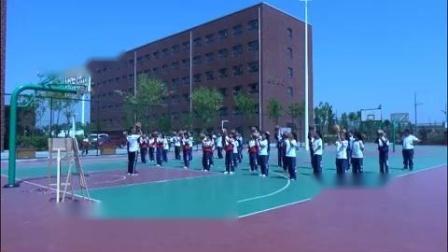 初中体育与健康人教版七年级6篮球原地、行进间单手肩上投篮-山西省优课