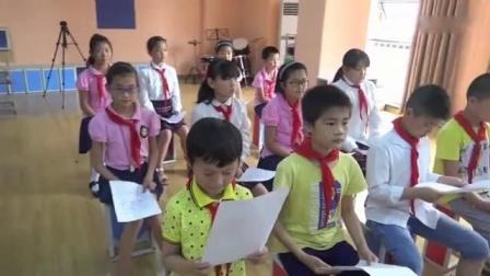 人民音乐出版社小学音乐四年级上册第三课快乐的课间《哦,十分钟》安徽省优课