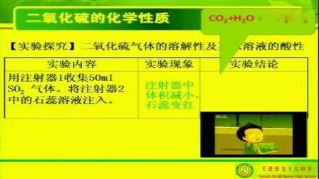 全国教师优质课评比大赛获奖视频高中化学《从生活中感悟二氧化硫》