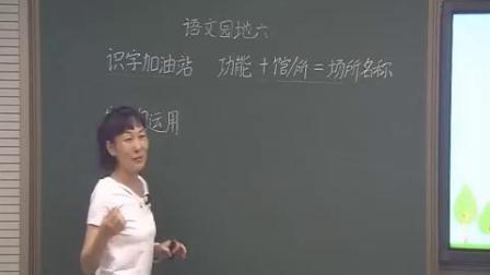 二年级下册《语文园地六》识字加油站字词句运用-天津