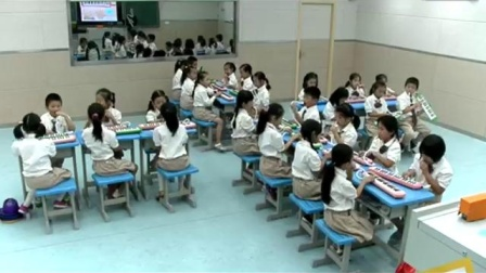 人民音乐出版社一年级下册第七课《粉刷匠》河南省 - 郑州