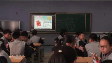 初中生物人教版七年级下册第三节输送血液的泵—心脏-内蒙古省级优课