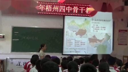 初中地理人教版八年级上册第二节气候-梧州