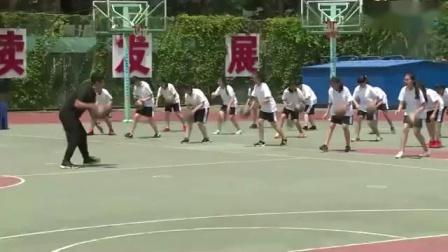 初中体育《篮球-行进间体前变向换手运球》案例赏析-张丹
