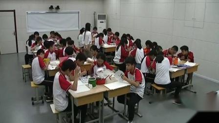 2017年八年级美术优质课评比活动录像视频(郑州市)《体验色彩的情感表达》杜静