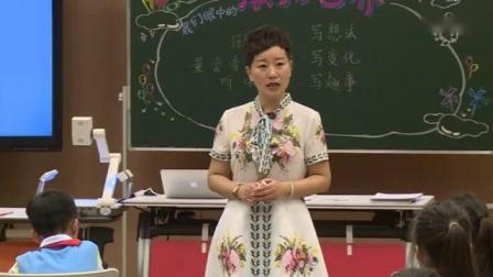 三上习作单元课例《我们眼中的缤纷世界》杭州陆红_3