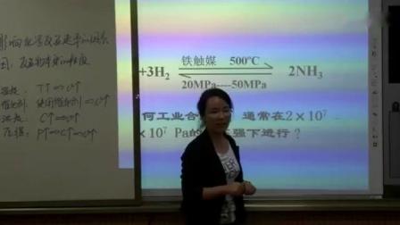 高中化学人教版必修二第二章第三节影响化学反应速率因素-陕西省