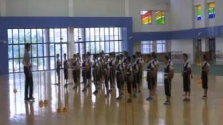 篮球-行进间运球体育与健康人教版-天津市滨海新区塘沽桂林路小学