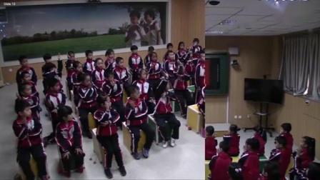 小学音乐人教版(简谱)一年级上册唱歌国旗国旗真美丽-山东省
