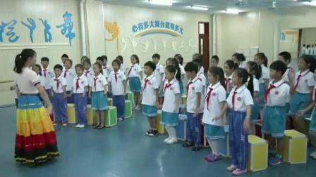 小学音乐人音版二年级上册演唱《彝家娃娃真幸福》天津市省级优课