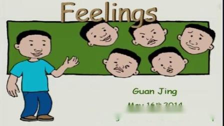 杭州西湖区小学英语微课片段教学评比视频管静六年级《Feelings》