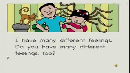 杭州西湖区小学英语微课片段教学评比视频六年级《Feelings》余洲