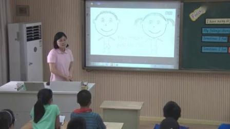 杭州西湖区小学英语微课片段教学评比视频倪佳-六年级《Feelings