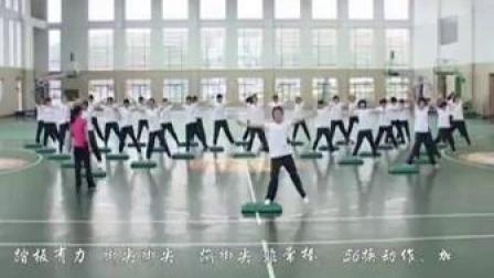 高二踏板操-浙江丽水_1(第五届全国中小学体育教学观摩)