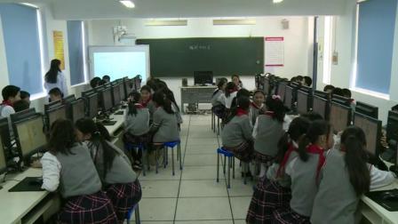 四年级下册信息技术视频课堂实录-编程中的美|通用版(杨萌萌)