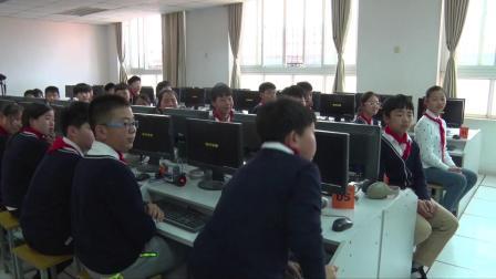 六年级信息技术视频课堂实录-按键控制机器人移动(如果那么命令的实用)|通用版(熊启志)