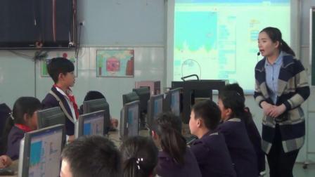 五年级下册信息技术视频课堂实录-大鱼吃小鱼|通用版(张喂)