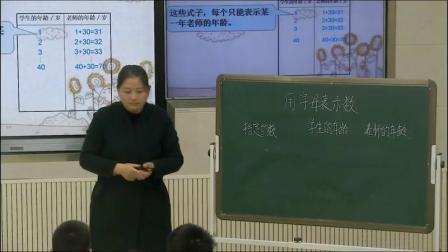 《用字母表示数》人教版小学数学五年级上册-河南-张德凤