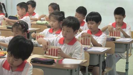 北师大版一年级数学《图书馆》教学视频-教研骨干李老师