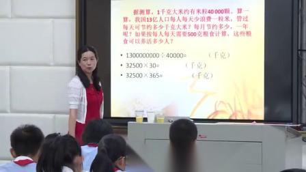 小学综合实践活动《来之不易的粮食》优质课教学视频10,湖北省