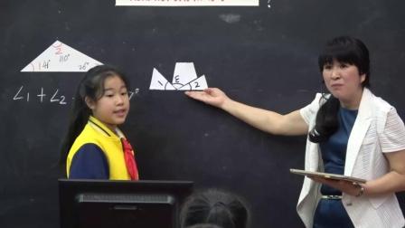 北师大版数学四下《三角形内角和》课堂教学视频-张美兰-特级教师优质课
