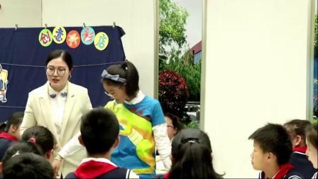 部编六年级下册《画汗衫》优质课视频+希沃白板课件,苏少2011课标版