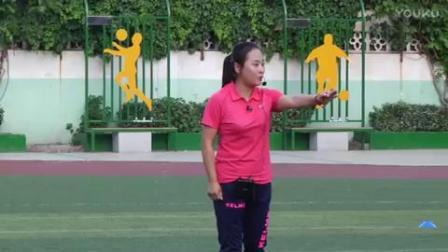 《足球脚背正面运球》小学体育与健康人教版-洛阳市
