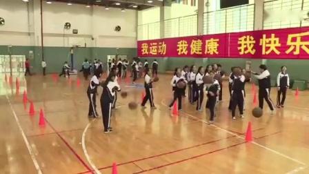 《篮球高运球低运球教学》课例视频(一)
