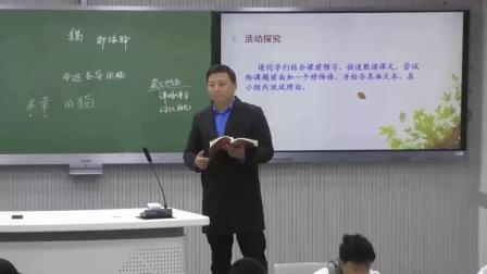 名师课堂初中语文人教版七上《猫》教学视频