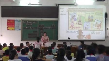 PEP五年级下册Unit 5 Whose dog is it A Let's learn广东省 - 河源