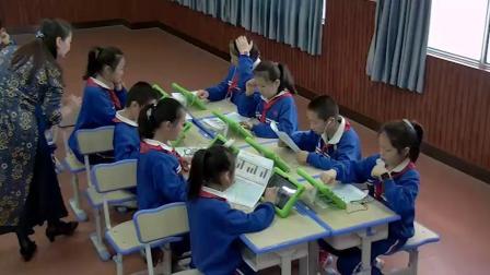 《(读谱唱歌)可爱的羊群》优质课展示(湘文艺版小学音乐四年级下册)
