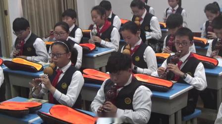 《(演唱)校园夕歌》教学实录(湘文艺版小学音乐六年级下册)