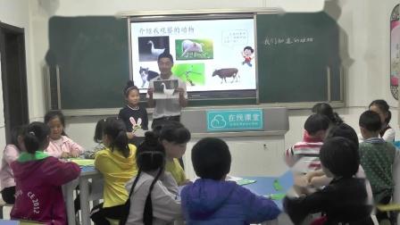 《1.我们知道的动物》课堂教学实录(教科2017版小学科学一年级下册)