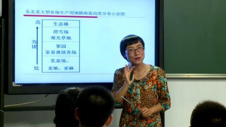《第四章 区域经济发展  章节复习与测试》教学实录(人教版高中地理必修三)