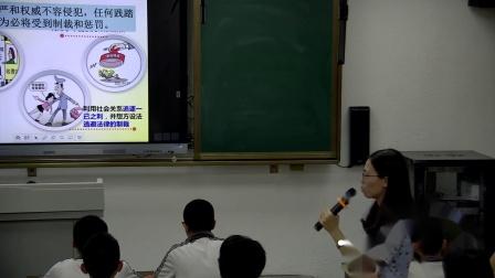 道德与法治八下7.2《自由平等地追求》优质课教学实录-吴淑瑶