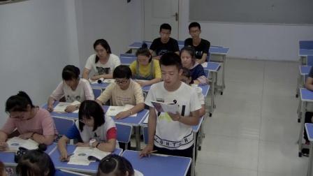统编版道德与法治九下3.1《中国担当》课堂实录-常晓华