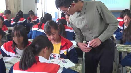 统编版道德与法治九下4.1《中国的机遇与挑战》课堂实录-饶成华
