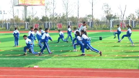 《第25课 走和跑:快速跑》优质课-科学版小学体育四年级第二学期