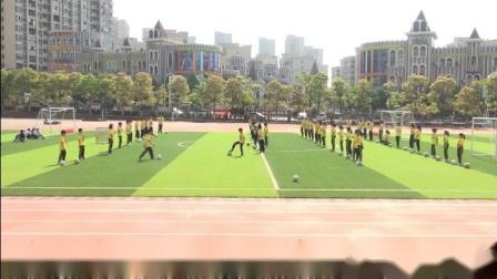 《足球游戏:端线足球比赛》优质课实录-科学版小学体育六年级第二学期