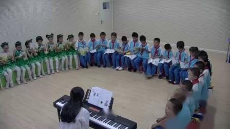 《集体舞)快乐小舞曲》实录-湘文艺版小学音乐三年级上册