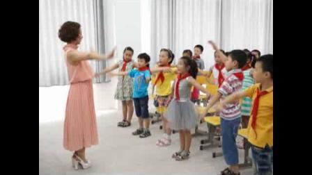 《集体舞)摆手舞》课堂教学实录-湘文艺版小学音乐三年级上册