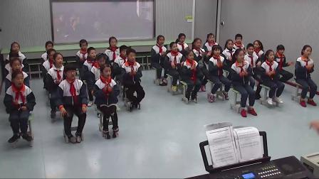 《集体舞)摆手舞》优质课视频-湘文艺版小学音乐三年级上册